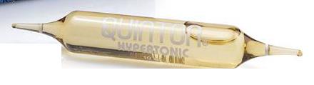 Hypertonic Quinton hipertoniczny roztwór wody morskiej